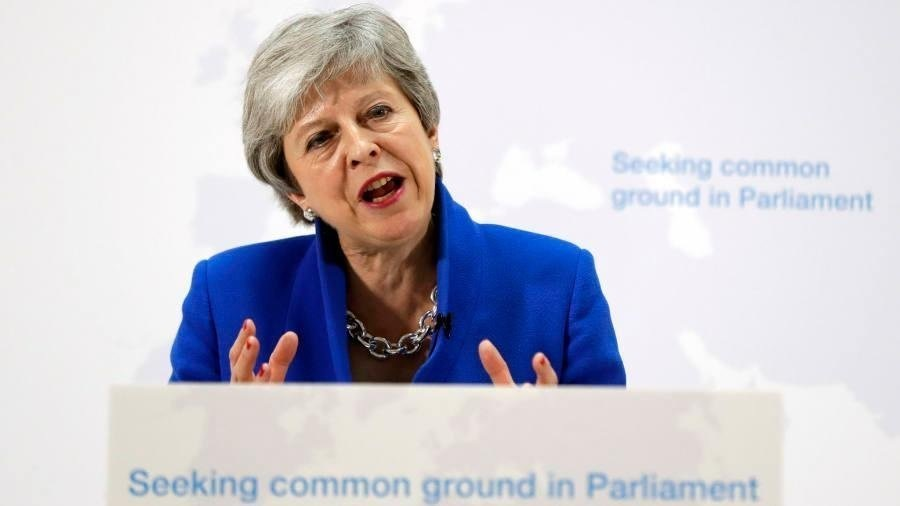 Theresa May offers vote on second Brexit referendum