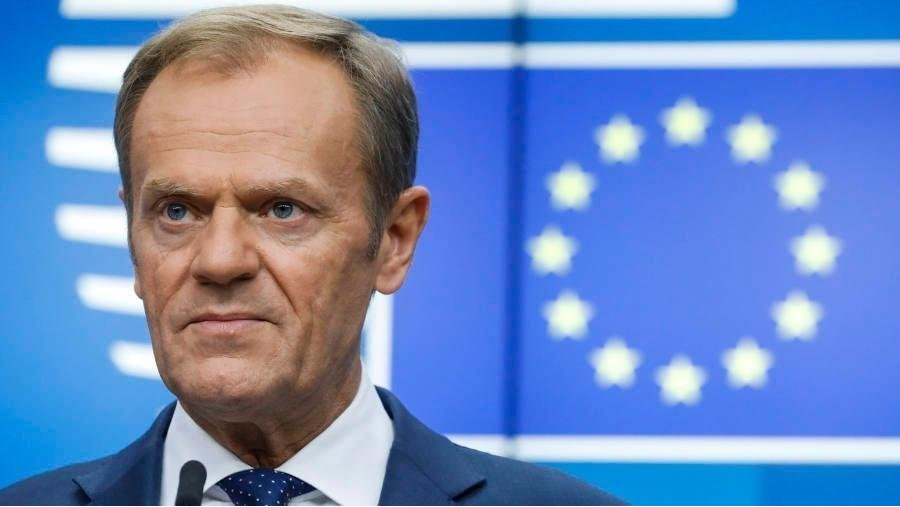 Donald Tusk rejects Boris Johnson demand to scrap Irish backstop