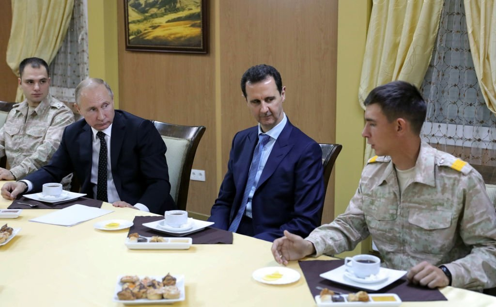 Assad Henchmen's Russian Refuge